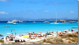 Plages Formentera
